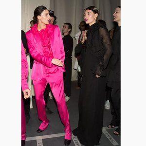 Blogger Favorite H&M Runway Studio Neon Jacket Top